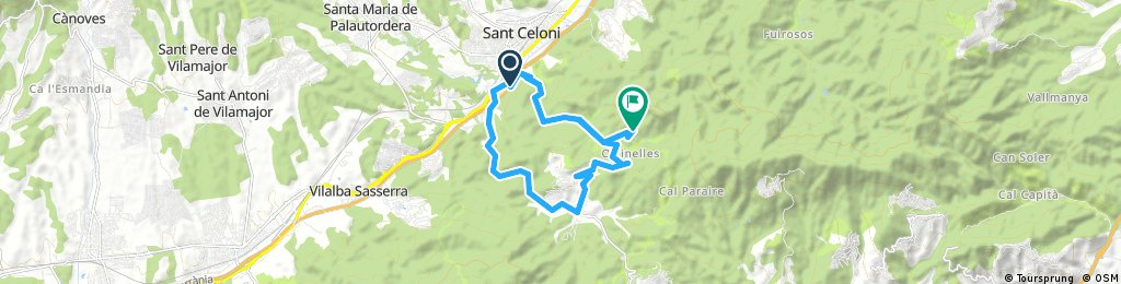 Sant Celoni-Olzinelles-Can Virgili (Vallgorguina)