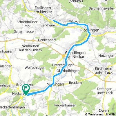 Orient Express Grossengottern Karte.Neckarradweg Karte