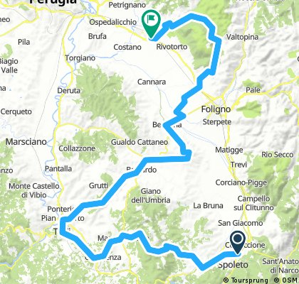 3 Etappe Ultra. Audienz mit Franz von Assisi