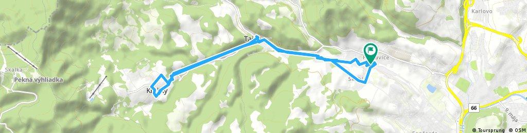 Brief ride through District of Banská Bystrica