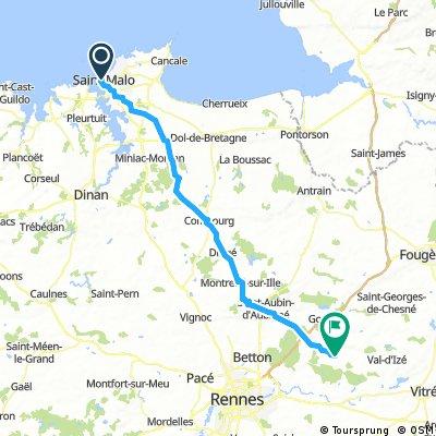 HC 3 St Malo to La Bouexiere