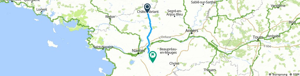 HC 5 Chateaubriant to Clisson