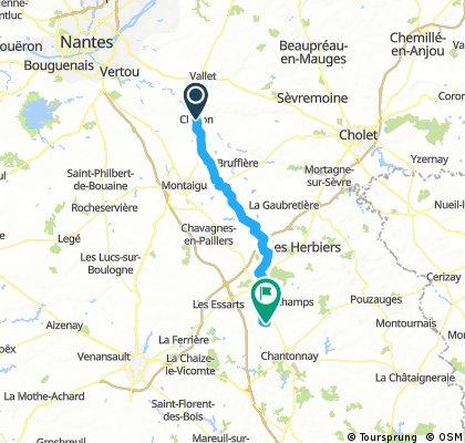 HC 6 Clisson to Saint-Cecile