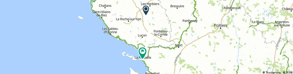HC 7 Sainte-Cecile to La Rochelle