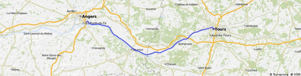 033 April 11th: Angers to Tours