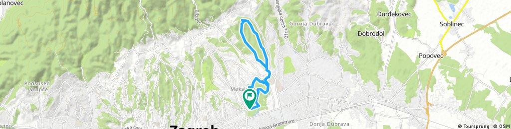 Cvita's 14 km Maksimir & DotrscinaTrail Run / XC Bike