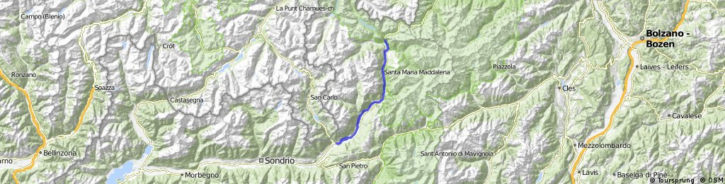 Day 4 Easy: Bormio > Tirano > Bormio