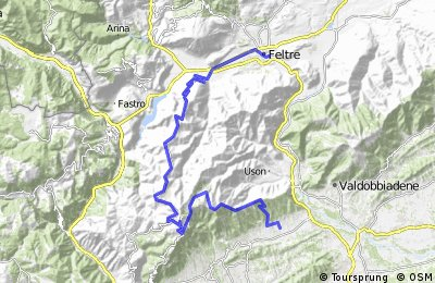 Day 11: Med - M.Grappa to Asolo Golf