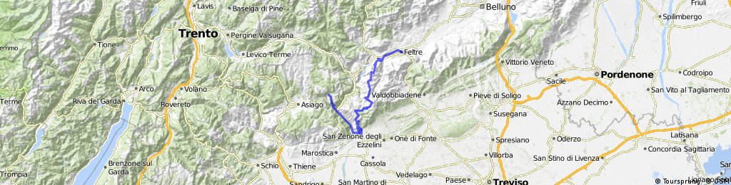 Day 11: Very Hard - M.Grappa > Foza > ASiago