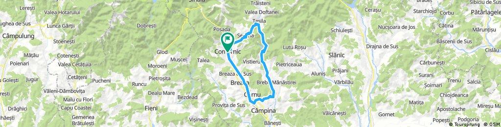 Comarnic-Secaria-Baraj Paltinu-Campina-Comarnic