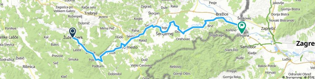 D-2 Žužemberk - Novo mesto - Obrežje