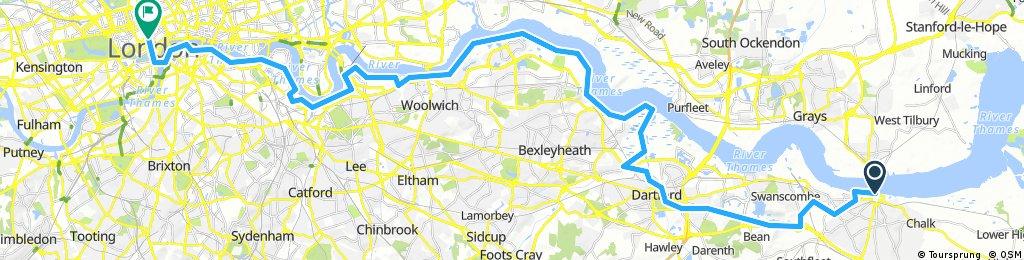 BL18-34 Gravesend - London