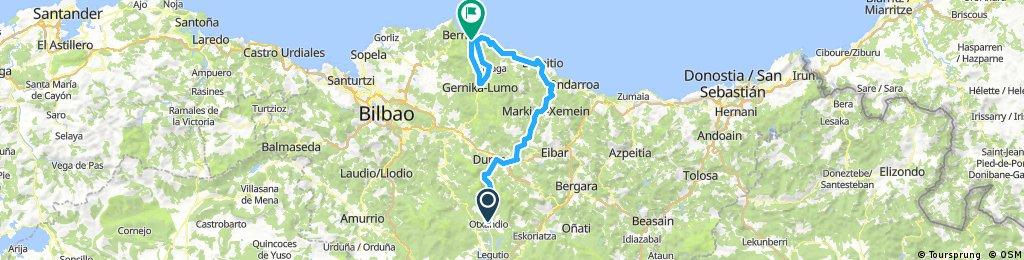 Bizkaia Cycling Tour Stage3. Otxandio-Mundaka
