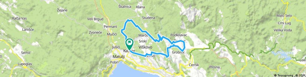 Rijeka Bike Weekend - Dan 1 (DUŽA)