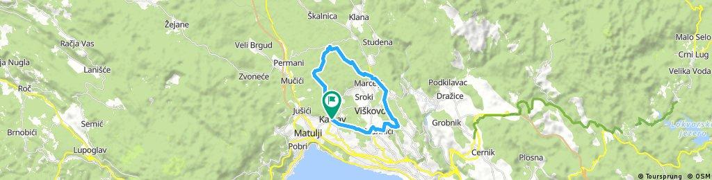 Rijeka Bike Weekend - Dan 1 (KRAĆA)