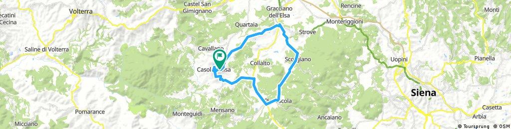 Terre Di Casole .....Giro del Capannino by Gippo Bike