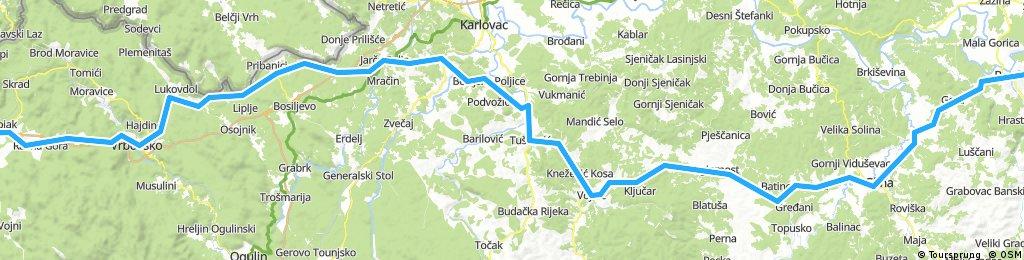 BRM 1000 km Sveta Nedelja 2017 - Leg 4