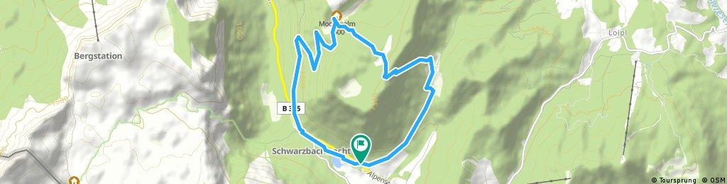 Almerlebnisweg Ramsau / Wandertour