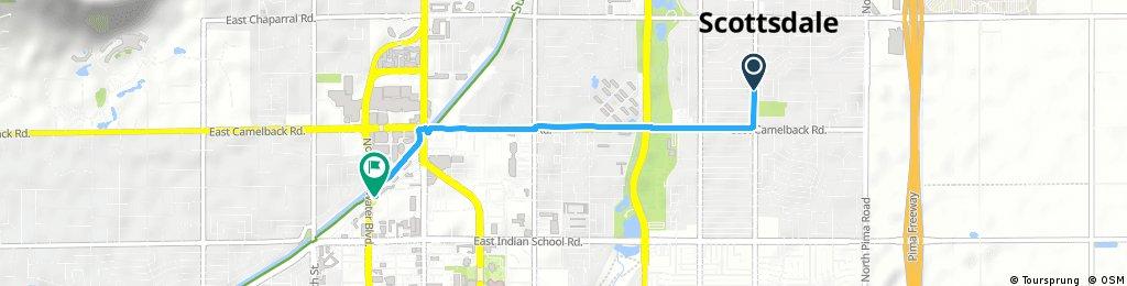 Short bike tour through Scottsdale