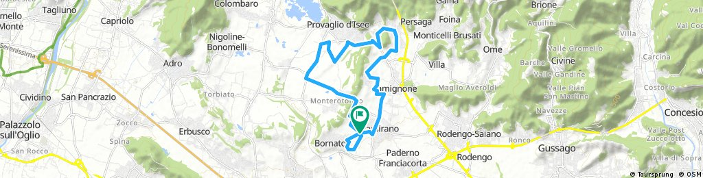 ride from Passirano to Dosso