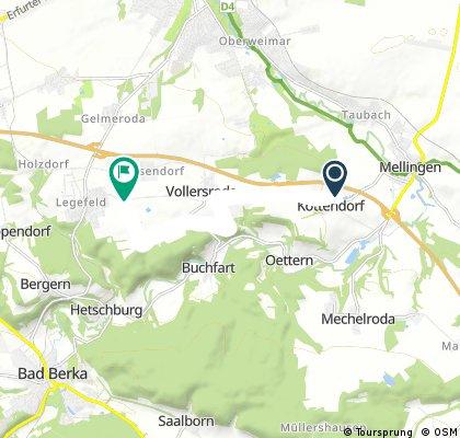 Wanderung Legefeld-Legefeld