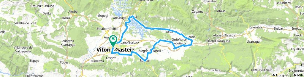 Vitoria-Landa-Ozaeta-Zalduondo-Araia-Mezkia-AGURAIN-Zuazo-Dallo-Alegria-Egileta-Aberasturi-Vitoria