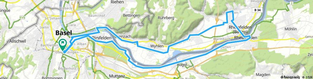 20170316 Grenzach-Rheinfelden-Augst-Birsfelden