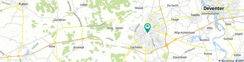 Apeldoorn Cycle Route