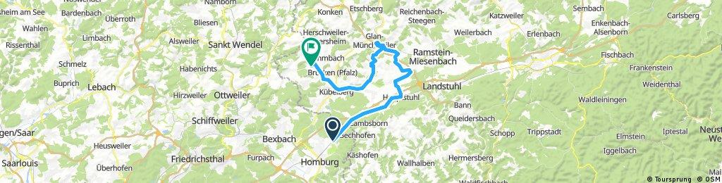 Radsport Schroeder Homburg Spesbach Glan-Münchweiler Elschbach