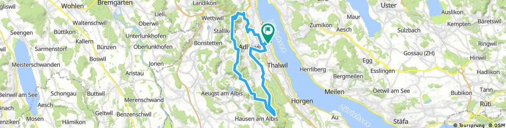 Kilchberg Sihlwald tour