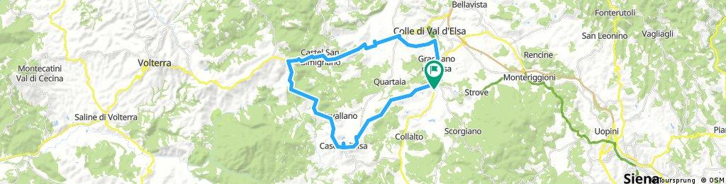 Gippo Bike....Borgo Santinovo....wine tasting experience.