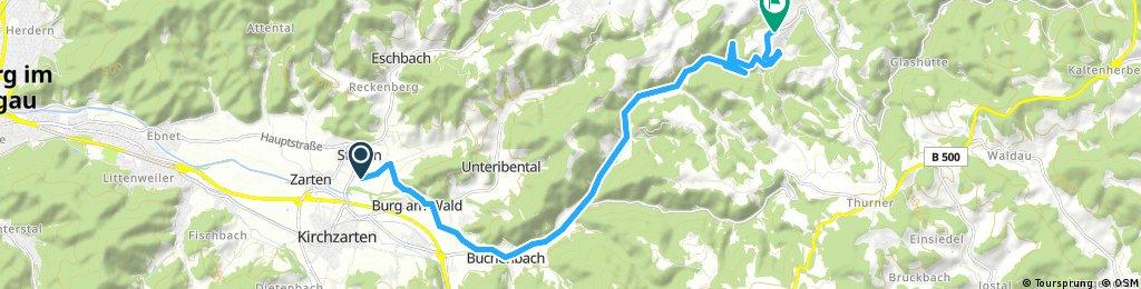 Radrunde von Kirchzarten nach St. Märgen