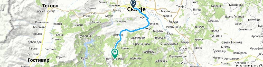 Skopje - Patiska reka