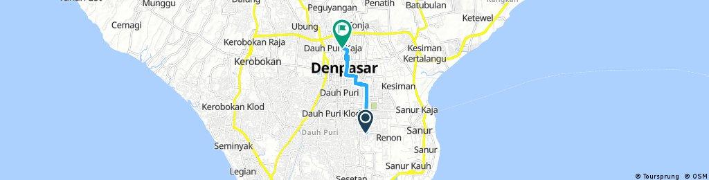 Quick ride through Denpasar