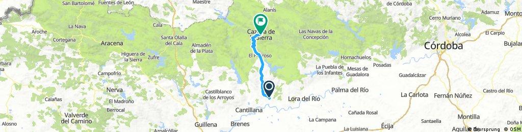 Villanueva del Rio y Minas-Cazalla de la Sierra