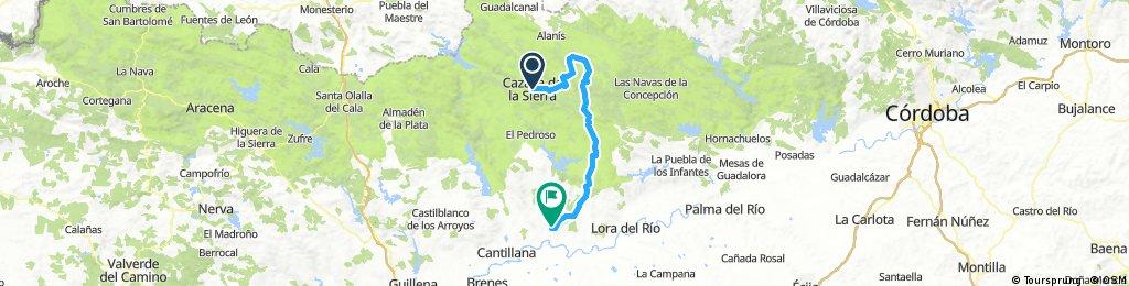 Cazalla de la Sierra-Constantina-Villanueva del Río y Minas