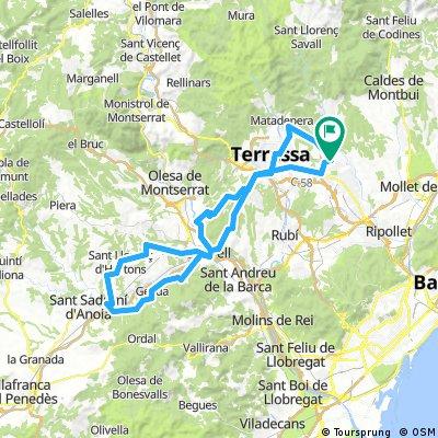 Sabadell-Espiells-Subirats-Suro-Sabadell