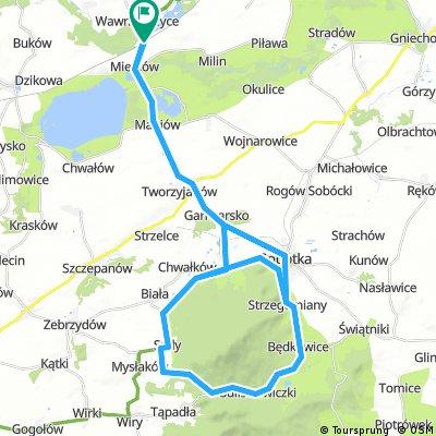 Stacja Mietków - 2x Tour de Ślęża - Stacja Mietków