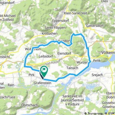 Grafenstein - Saugraben  - Haidach