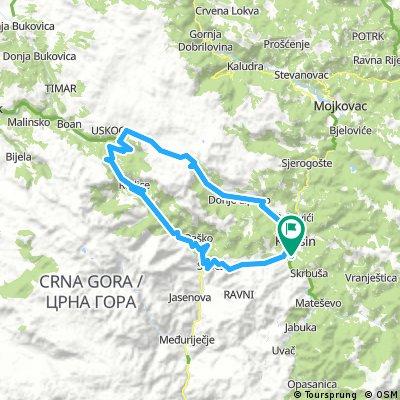 MTB Kolasin-Krna Jela 80 km
