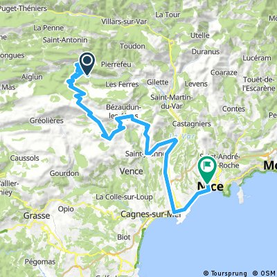Roquesteron - Nizza