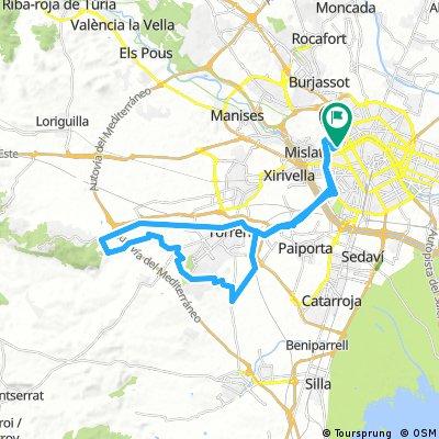 Valencia - Calicanto por Barranco de Torrente