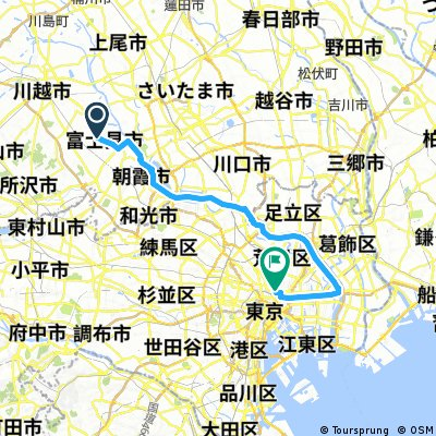 to 秋葉原(平井経由)