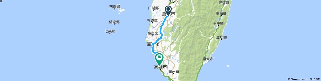 9 Apr (From Chiayi To Kaohsiung)