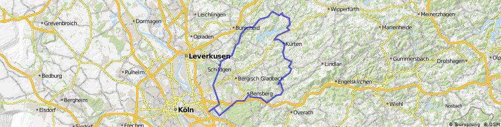 Untereschbach, Kürten, Dhünn, Altenburg