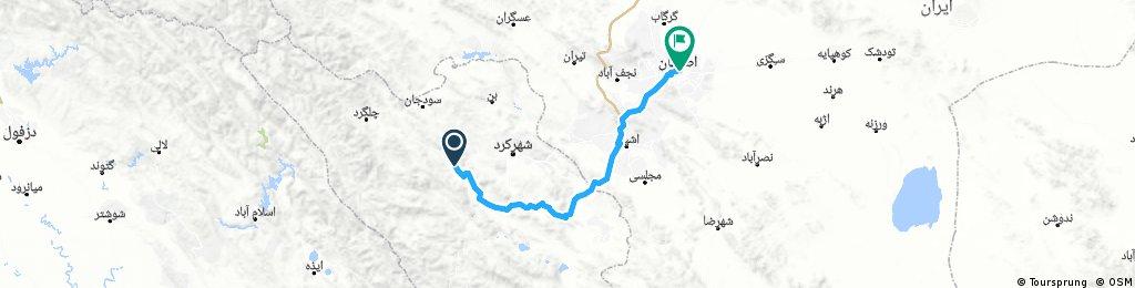 Farsan - Isfahan (175 km, 600 m)