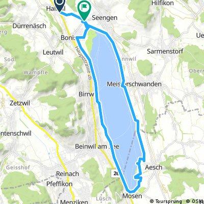 Radrunde von Hallwil nach Seengen