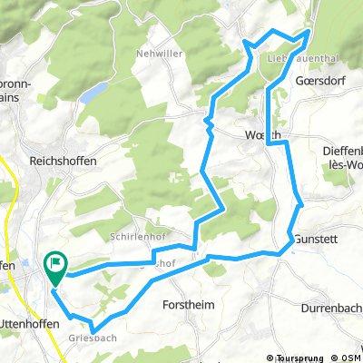 Gundershoffen 31km