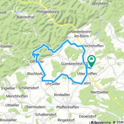 Gundershoffen 38km