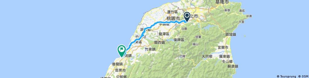 土城板橋到濱海